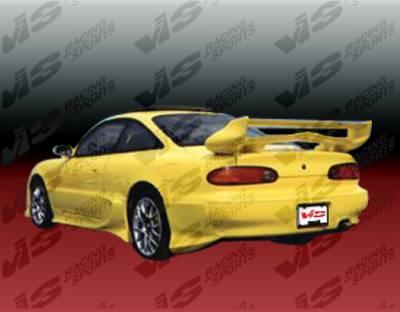 VIS Racing - Mazda MX6 VIS Racing Invader Side Skirts - 93MZMX62DINV-004