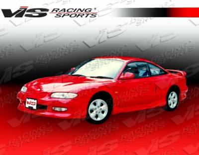 VIS Racing - Mazda MX6 VIS Racing Magnum Side Skirts - 93MZMX62DMAG-004