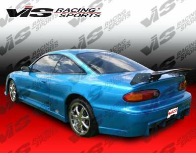 VIS Racing - Mazda MX6 VIS Racing TSC Side Skirts - 93MZMX62DTSC-004
