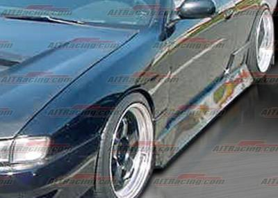 AIT Racing - Nissan 240SX AIT Racing M4 Style Side Skirts - N24095HIURASS