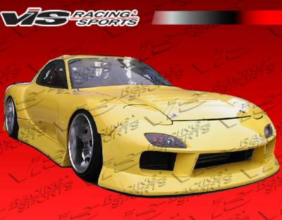 VIS Racing. - Mazda RX-7 VIS Racing B Speed Widebody Side Skirts - 93MZRX72DBSPWB-004
