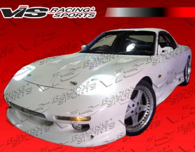 VIS Racing - Mazda RX-7 VIS Racing G-Speed Side Skirts - 93MZRX72DRX-004