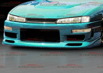 AIT Racing - Nissan 240SX AIT Racing Charger Style Front Bumper - N24097HICHGFB