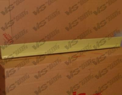 VIS Racing - Nissan Altima VIS Racing Evolution-3 Side Skirts - 93NSALT4DEVO3-004