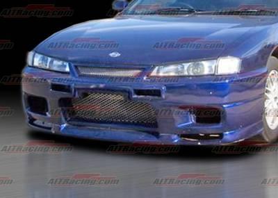 AIT Racing - Nissan 240SX AIT Racing R33 Style Front Bumper - N24097HIR33FB