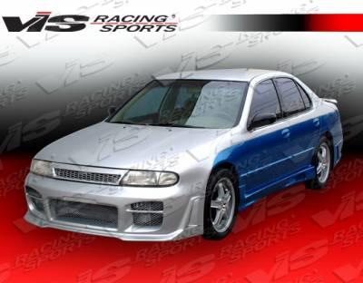 VIS Racing - Nissan Altima VIS Racing Omega Side Skirts - 93NSALT4DOMA-004