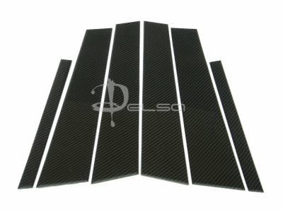 Custom - E90 Carbon Fiber Door Pillars