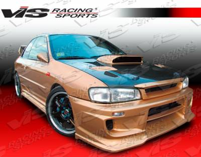 VIS Racing - Subaru Impreza VIS Racing Demon Side Skirt - 93SBIMP4DDEM-004