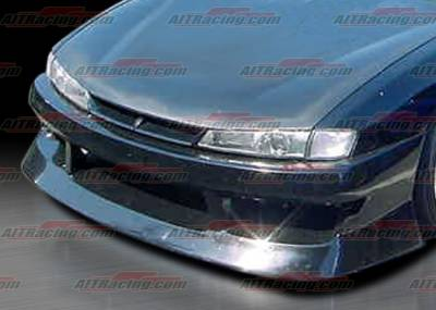 AIT Racing - Nissan 240SX AIT Racing M4 Style Front Bumper - N24097HIURAFB
