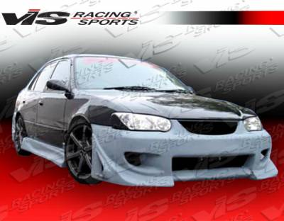 VIS Racing - Toyota Corolla VIS Racing Battle Z Side Skirts - 93TYCOR4DBZ-004