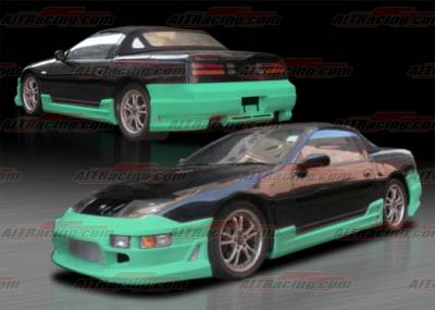 AIT Racing - Nissan 300Z AIT Racing CW Style Complete Body Kit - N30090HICWSCK