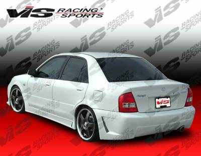 VIS Racing - Toyota Corolla VIS Racing TSC-3 Side Skirts - 93TYCOR4DTSC3-004