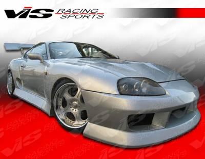 VIS Racing - Toyota Supra VIS Racing B Speed Side Skirts - 93TYSUP2DBSP-004