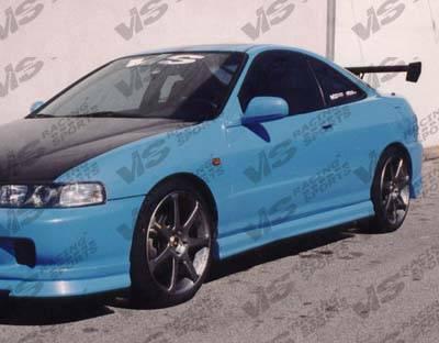 VIS Racing - Acura Integra 2DR VIS Racing Ace Side Skirts - 94ACINT2DACE-004
