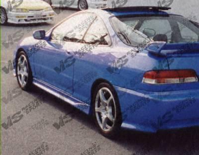 VIS Racing - Acura Integra 2DR VIS Racing Xtreme Side Skirts - 94ACINT2DEX-004