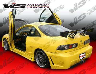 VIS Racing - Acura Integra 2DR VIS Racing TSC-3 Side Skirts - 94ACINT2DTSC3-004