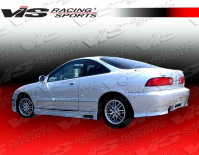 VIS Racing - Acura Integra 2DR VIS Racing Z1 boxer Side Skirts - 94ACINT2DZ1-004