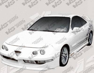 VIS Racing - Acura Integra 4DR VIS Racing Techno R Side Skirts - 94ACINT4DTNR-004