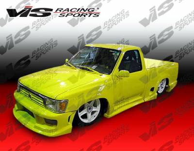 VIS Racing - Chevrolet S10 VIS Racing Striker Side Skirts - 94CHS102DSTR-004
