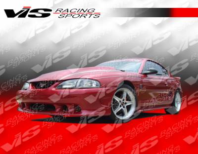 VIS Racing - Ford Mustang VIS Racing Stalker Side Skirts - Urethane - 94FDMUS2DSTK-004P
