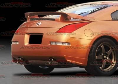 AIT Racing - Nissan 350Z AIT Racing Nismo Style Rear Spoiler - N3502BMNMORW