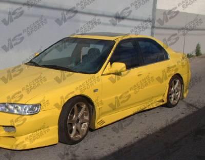 VIS Racing - Honda Accord 2DR & 4DR VIS Racing Cyber Side Skirts - 94HDACC2DCY-004