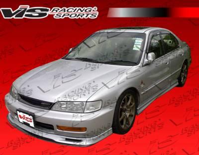 VIS Racing - Honda Accord 2DR & 4DR VIS Racing EVO Side Skirts - 94HDACC2DEVO-004