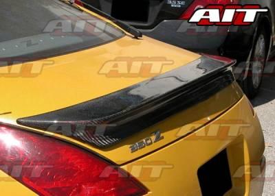 AIT Racing - Nissan 350Z BMagic Carbon Fiber Rear Spoiler - N3502BMVS1RWC