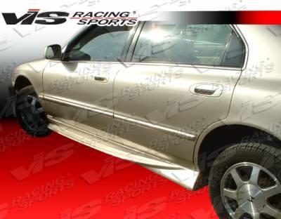 VIS Racing - Honda Accord 4DR VIS Racing Xtreme Side Skirts - 94HDACC4DEX-004