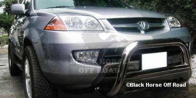 Black Horse - Acura MDX Black Horse Bull Bar Guard with Skid Plate