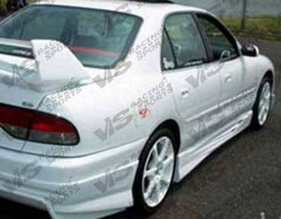 VIS Racing - Mitsubishi Galant VIS Racing Invader Side Skirts - 94MTGAL4DINV-004