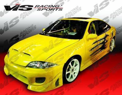 VIS Racing - Chevrolet Cavalier 2DR VIS Racing Ballistix Side Skirts - 95CHCAV2DBX-004