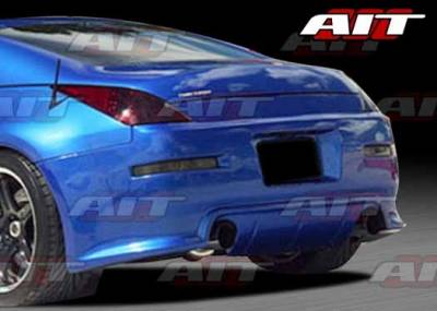 AIT Racing - Nissan 350Z AIT I-Spec 2 Style Rear Bumper - N3502HIING2RB