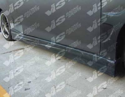 VIS Racing. - Chevrolet Cavalier 2DR VIS Racing GT Bomber Side Skirts - 95CHCAV2DGB-004