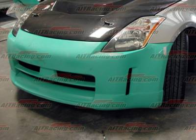 AIT Racing - Nissan 350Z AIT Racing ING Style Front Bumper - N3502HIINGFB