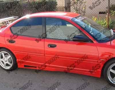 VIS Racing - Dodge Neon 4DR VIS Racing Z1 boxer Side Skirts - 95DGNEO4DZ1-004