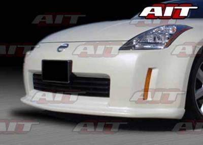 AIT Racing - Nissan 350Z AIT VSI Style Front Air Dam - N3502HIVS1FAD