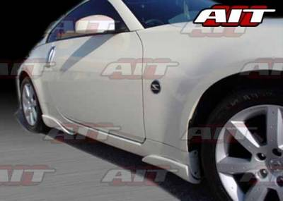 AIT Racing - Nissan 350Z AIT VSI Style Side Skirts - N3502HIVS1SS