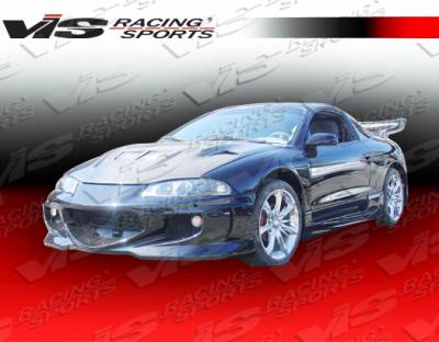 VIS Racing - Mitsubishi Eclipse VIS Racing GT Bomber Side Skirts - 95MTECL2DGB-004