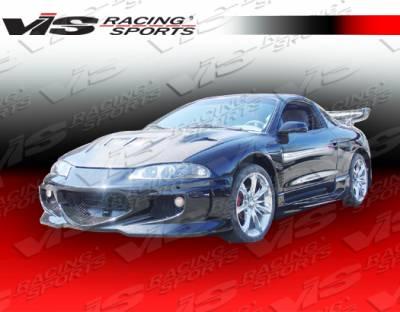 VIS Racing - Mitsubishi Eclipse VIS Racing GT Bomber Side Skirts - 95MTECL2DGB-004