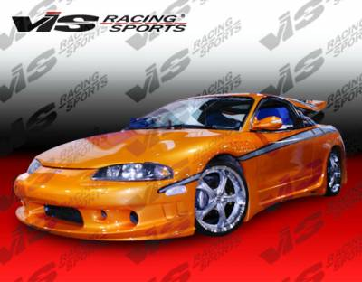 VIS Racing - Mitsubishi Eclipse VIS Racing RD Side Skirts - 95MTECL2DRD-004
