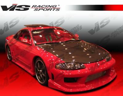 VIS Racing - Mitsubishi Eclipse VIS Racing Striker Side Skirts - 95MTECL2DSTR-004