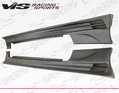 VIS Racing - Mitsubishi Eclipse VIS Racing Torque Side Skirts - 95MTECL2DTQ-004