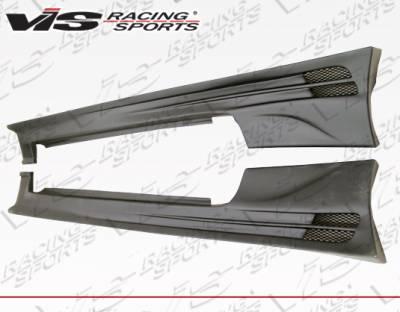 VIS Racing - Mitsubishi Eclipse VIS Racing Torque Side Skirts - 95MTECL2DTQ-004