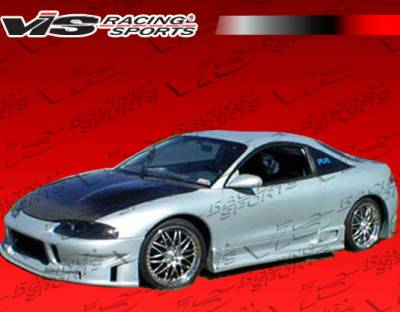 VIS Racing - Mitsubishi Eclipse VIS Racing TSC Side Skirts - 95MTECL2DTSC-004