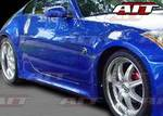 AIT Racing - Nissan 350Z AIT Racing VTX Style Side Skirts - N3502HIVTXSS