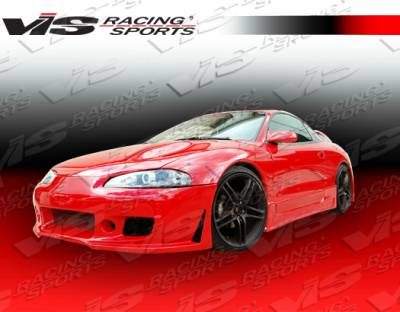 VIS Racing - Mitsubishi Eclipse VIS Racing TSC-3 Side Skirts - 95MTECL2DTSC3-004