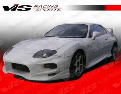 VIS Racing - Mitsubishi FTO VIS Racing Invader Side Skirts - 95MTFTO2DINV-004
