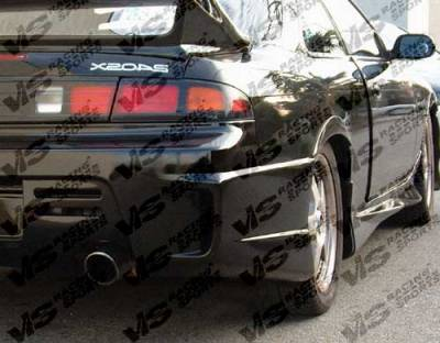 VIS Racing - Nissan 240SX VIS Racing GT Bomber Side Skirts - 95NS2402DGB-004