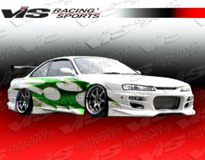 VIS Racing. - Nissan 240SX VIS Racing GT Bomber-2 Side Skirts - 95NS2402DGB2-004